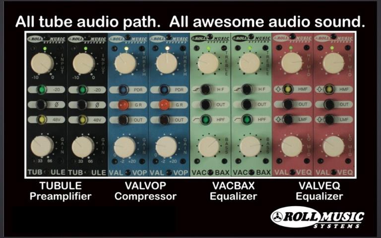 New Roll Music Modules