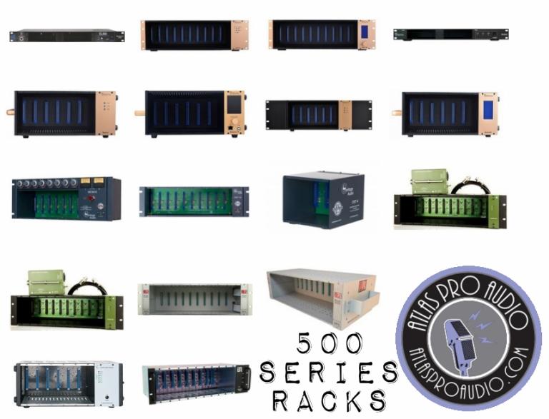 500 Series Rack Enclosures | Atlas Pro Audio