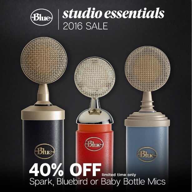 Blue Studio Essentials Sale - Spark, Bluebird, Baby Bottle