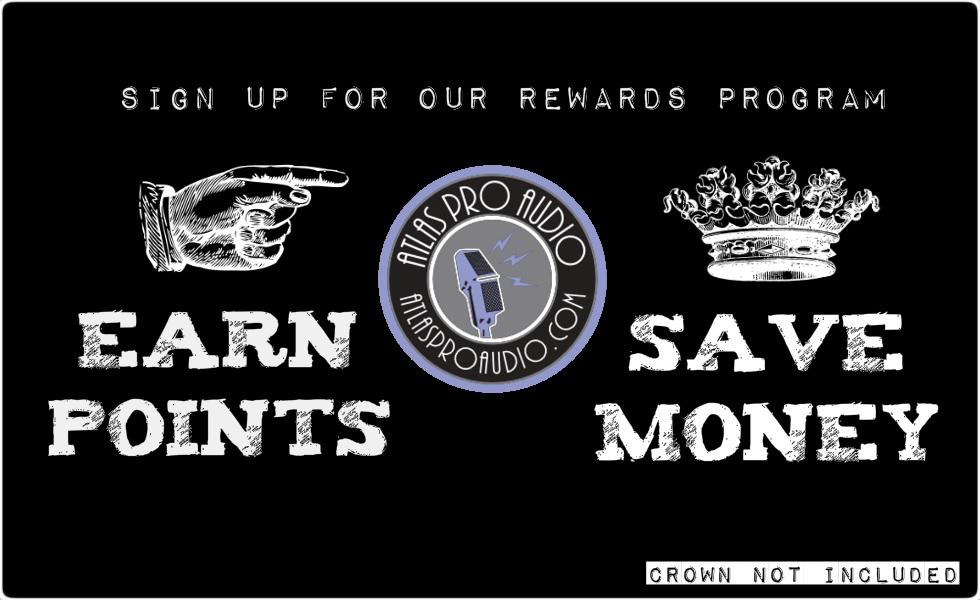 Rewards Program at Atlas Pro Audio