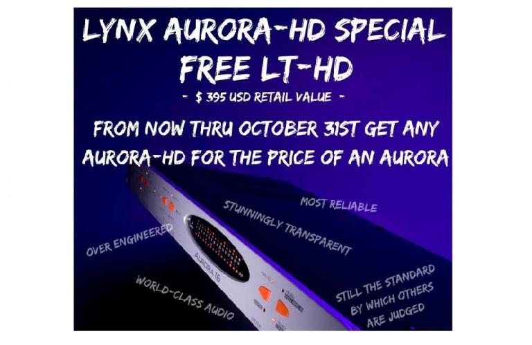 Lynx LT-HD Card Promotion at www.atlasproaudio.com