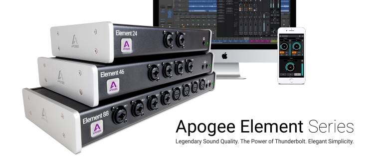 Element 24, Element 46 and Element 88—each with a different number of analog and digital I/O.