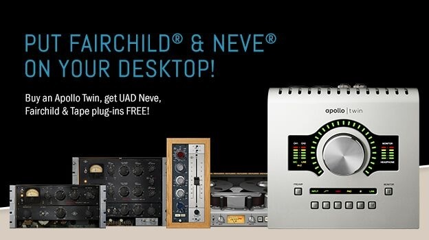 "Apollo Twin ""Put Fairchild® & Neve® On Your Desktop"" Promo"