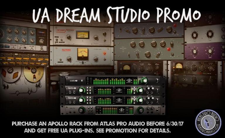 UA Dream Studio Promotion at Atlas Pro Audio