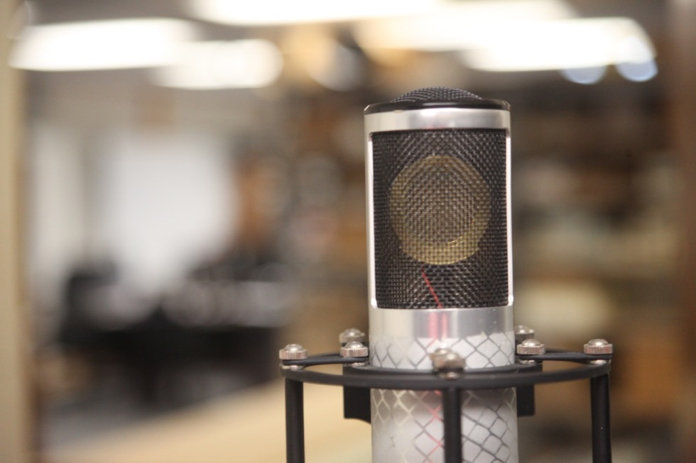 New Manley Labs Reference Silver Microphone