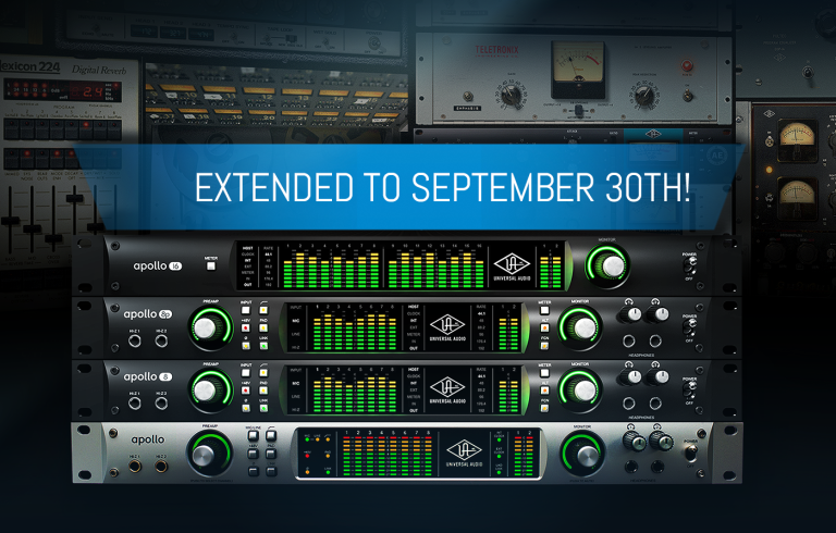 Apollo Rack Promotion Extended!